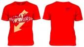 T.G.I.F. Tシャツ (レッド)